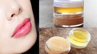 DIY Melon Lip Scrub Plus Make Your Own Lip Moisturizer-Softener for Dry and Chapped Lips