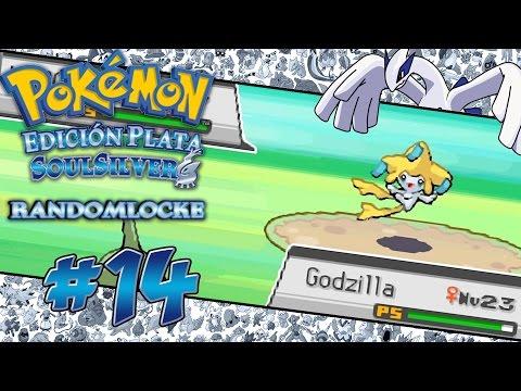 Pokémon Plata SoulSilver Randomlocke # 14 ( Ruta 38 y 39 - ¿¿Jirachi?? FaceCam Back!! )