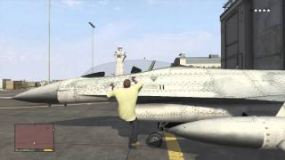 GTA V - How To Steal A Jet (GTA 5)