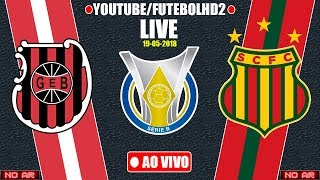 Brasil de Pelotas x Sampaio Corra | Brasileiro Serie B | 19/05/2018