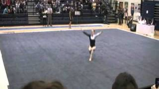 Kassidy Stauder 39 S 2011 Psu Vs Unh Floor Exercise