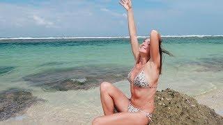 Девушка на пляже Бали. Шок: Едим землю. В гостях у русских долгожителей на Бали. 