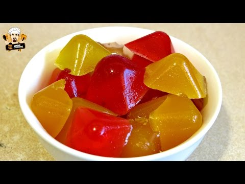 HOMEMADE GUMMY JUICE VITAMINS