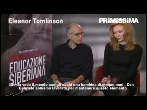 Intervista al regista Gabriele Salvatores e a Eleanor Tomlinson per Educazione siberiana