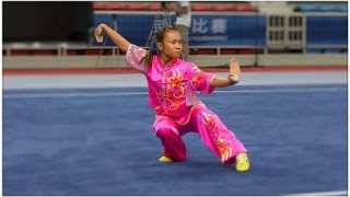 NANJING 2014 Wushu Tournament - Women Changquan SIN Mui Wei Ting Zoe 梅玮娗 9.46