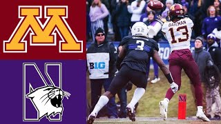#10 Minnesota vs Northwestern Highlights | NCAAF Week 13 | College Football Highlights