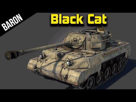 War Thunder M18 Black Cat, The Super Hellcat?