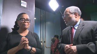 "Oprah Winfrey's emotional first look at ""Watching Oprah"" Smithsonian exhibit"