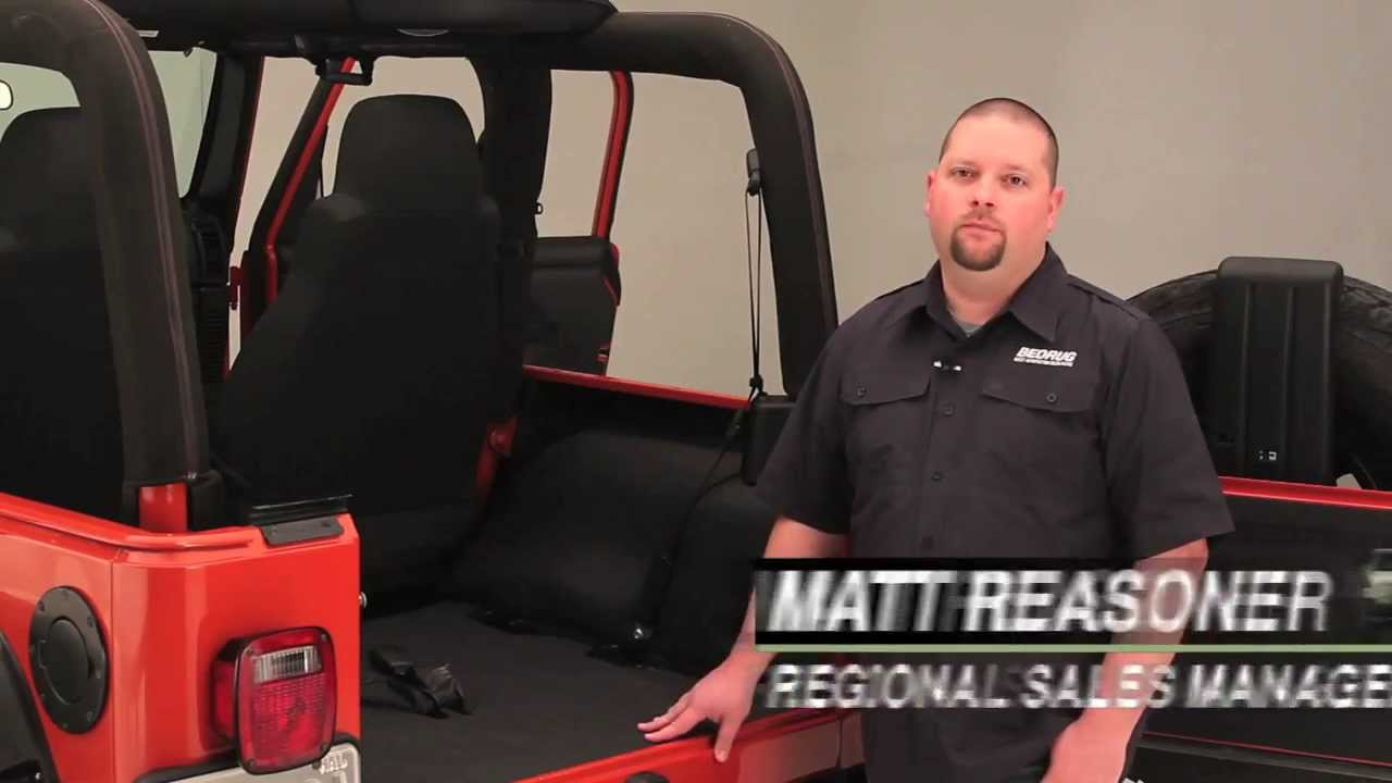BedTred Jeep Cargo Liners Features & Benefits