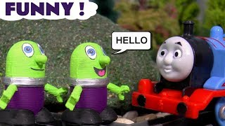 Funny Funlings fun toy stories with Thomas The Tank Engine and Superheroes TT4U