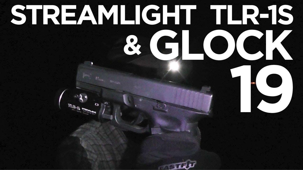 Streamlight TLR-1s on a Glock 19 Gen 4 - YouTube