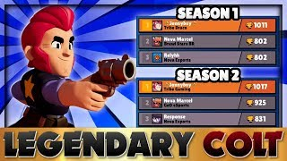 [Pro Gameplay] NO ONE is BETTER at Colt than This Pro! | BEST Colt Tips with Jonnyboy! | Brawl Stars