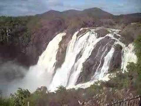 Waterfall Damn Near Bangalore India Babu Cab Tour