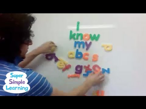 The Alphabet Song (let's Sing!) video