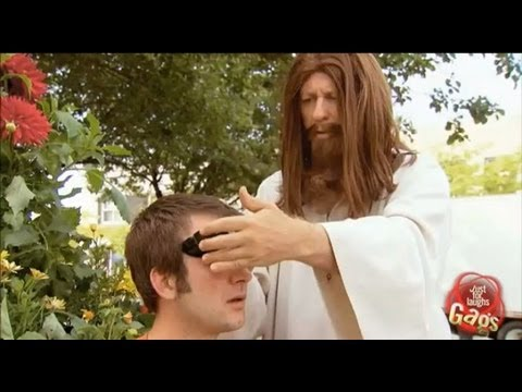 Blind Jesus Prank Just For Laughs
