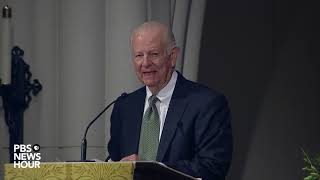 WATCH: James Baker delivers eulogy at George H.W. Bush's funeral
