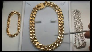 YARING PLATERO'S 1-ON-1 TRAINING for GOLD CUBAN LINK and SILVER CHAIN MAKING (Details below)
