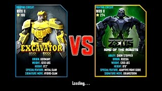 Real Steel WRB II FINAL Excavator VS Zeus (champion) NEW UPDATE (Живая Сталь)