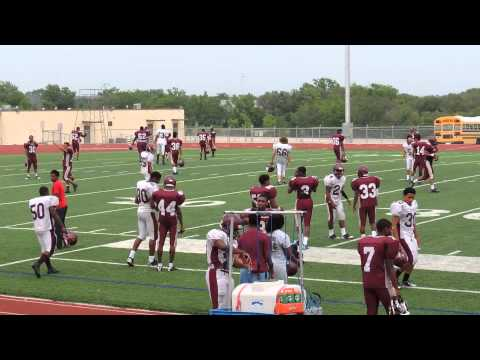 Leo Buckley should NEVER sound like this!!!! Killeen High School Spring football practice 5-23-2013