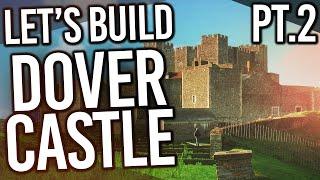 Minecraft Dover Castle Build Exploration! (Part Two)