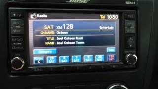 1st live Sirius XM studio interview with Joel Osteen