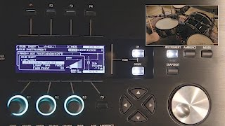 Roland TD-50 V-Drums Kit examples and custom sounds creation