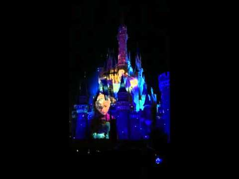 Tokyo Disneyland - once upon a time Forzen【Let it Go】