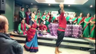 Performing Maago Bhabna Keno in Toronto on the occasion of Victory Day of Bangladesh