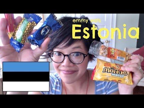 Emmy Eats Estonia - tasting Estonian sweets