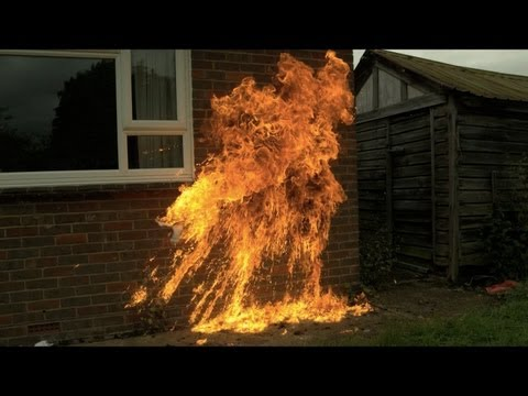 Molotov Cocktail in Slow Motion - The Slow Mo Guys