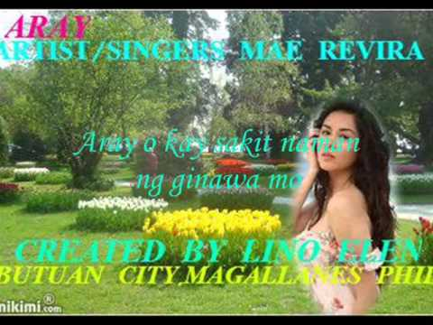 Aray-- Mae Rivera W  Lyrics video