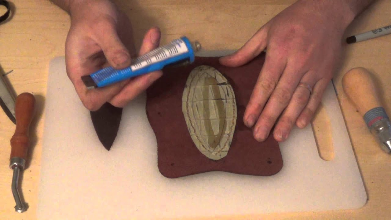 Making a Leather Archery Arm