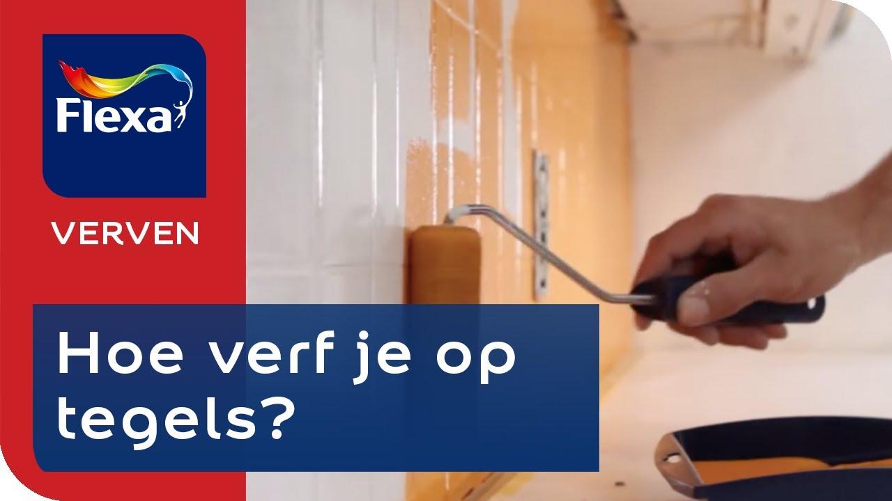 Muurtegels Keuken Verwijderen : jpeg 50kB, Flexa Let's Colour – Hoe schilder je muurtegels? – YouTube