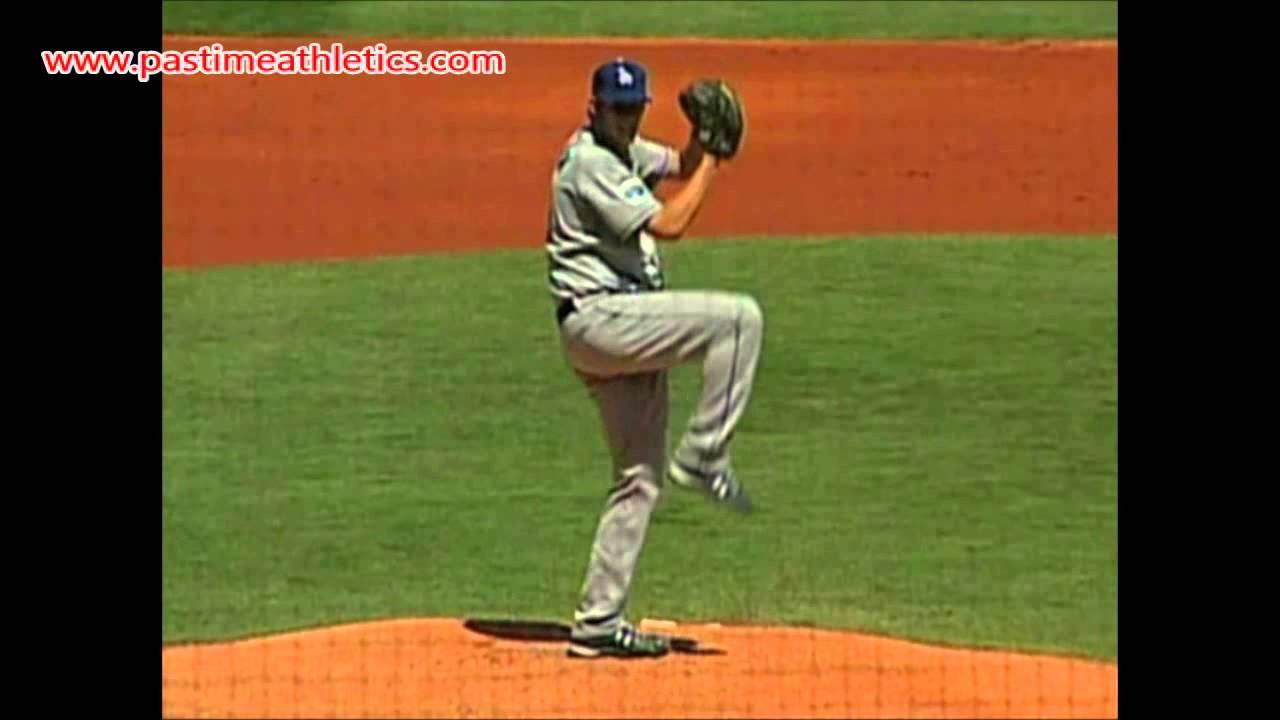 Clayton Kershaw Pitching Slow Motion Mechanics Video Clip ...