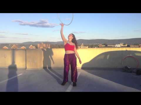 Kaitlyn Stocker's Mad Tea Party Jam 5 Hoop Troupe Entry