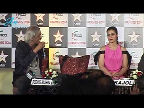 Sudhir Mishra and Kajol at FICCI Frames