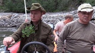Как Путин в Туве отдыхал (полная версия)