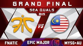 Fnatic vs MYSG+AU Grand Final SEA EPICENTER Major 2019 Highlights Dota 2