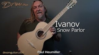 2018 Ivanov Snow Parlor, Flamed Maple & Swiss Alpine Moonspruce