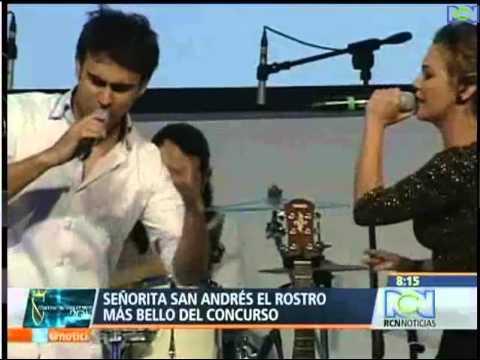 Señorita San Andrés, el rostro más bello del Concurso Nacional de Belleza 2012.
