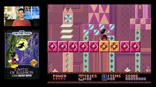 Mickey Mouse Castle of Illusion (Sega Genesis) Mike Matei live stream