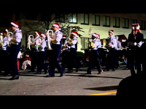 McDonough Christmas Parade - Eagles Landing Christian Academy Marching Band