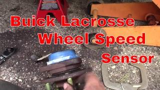 2009 Buick Lacrosse - Right Wheel Speed Sensor Circuit Malfuntion