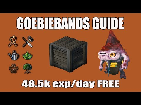 [Runescape 3] Updated Goebiebands Guide | FREE Daily Exp in Herblore, Crafting, Woodcutting, etc!