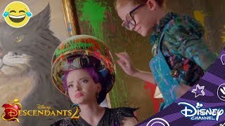 Descendants 2 | De Make-Over van Mal | Disney Channel NL
