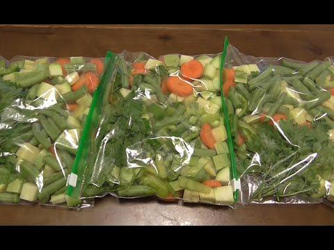 Заморозка овощей  Заготовка овощей для рагу на зиму.