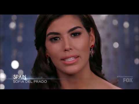 Miss Universe Spain 2017, Sofía del Prado, Miss Universe 2017.