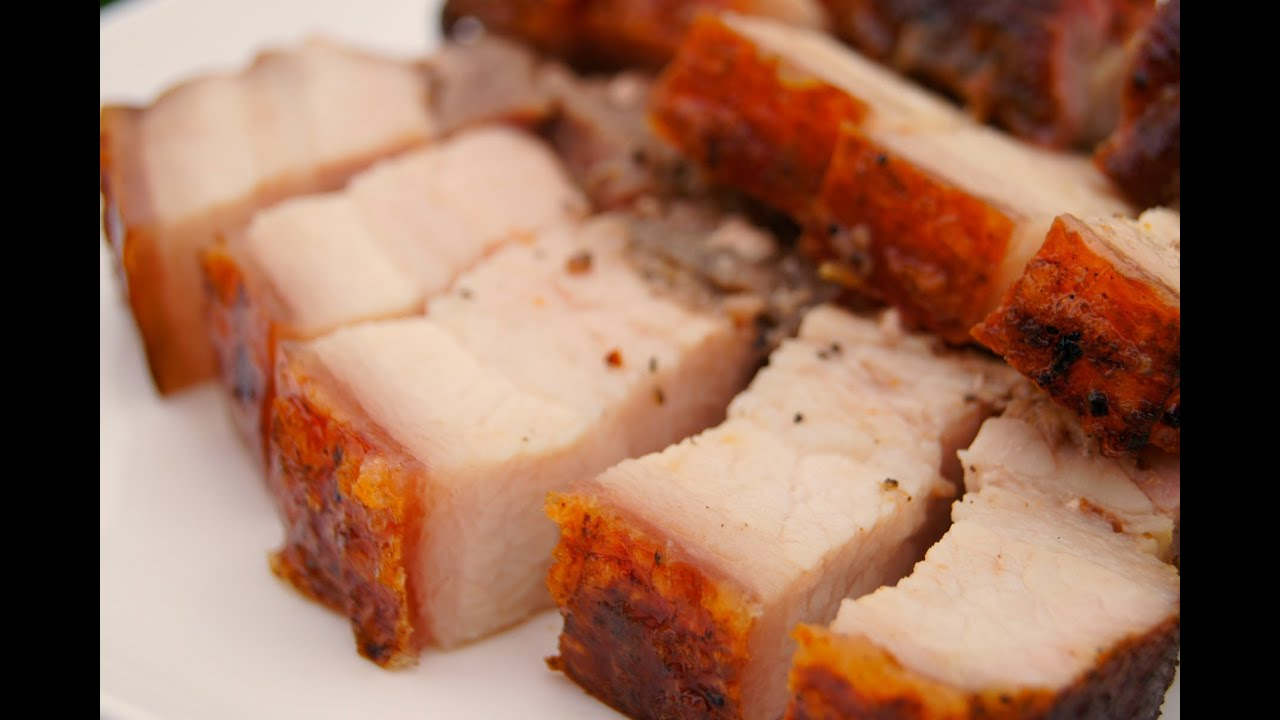 How to make Crispy Roasted Pork Belly -- can also be used for Liempo ...