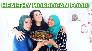 HEALTHY MOROCCAN FOOD  COOKING WITH HEALTHY SISTER