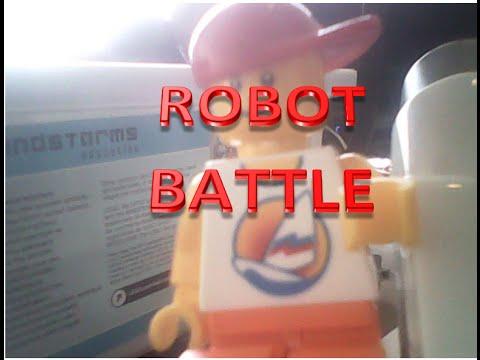 LEGO MINDSTORM ROBOT BATTLE!!!!!